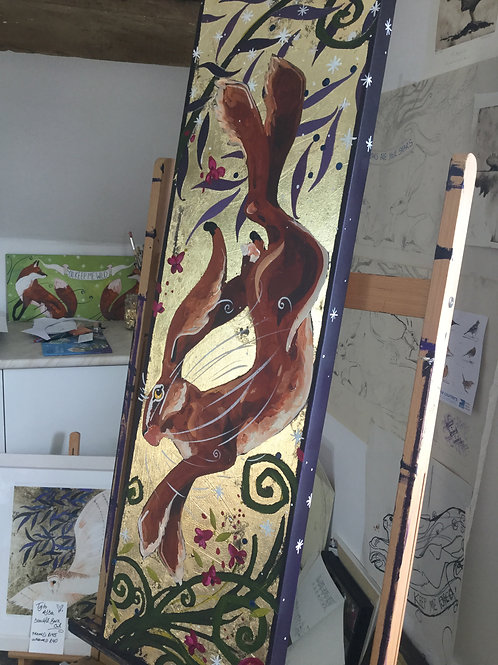 6th March, Painting Workshop, High Jinks Hare