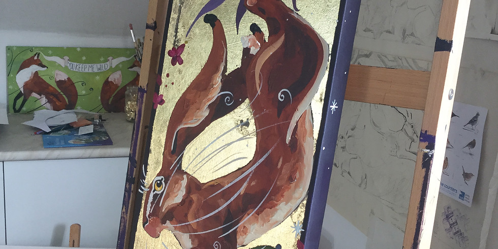 High Jinks Hare, Painting Workshop