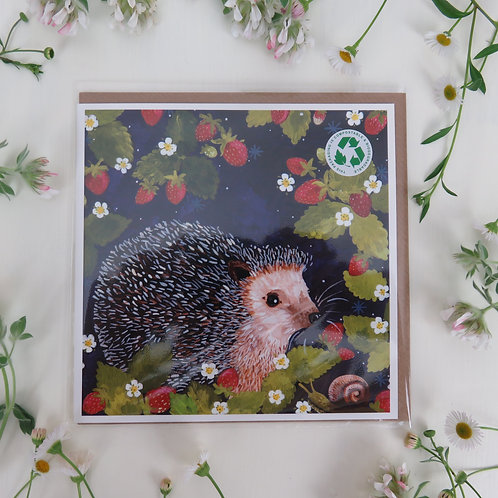 Wholesale Rosie Hedgehog, card
