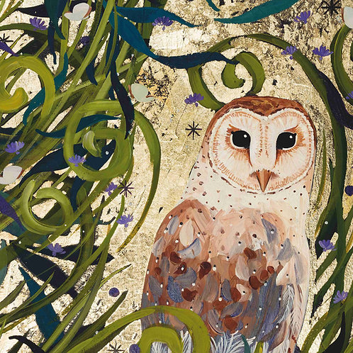 Midnight Owl, ORIGINAL canvas
