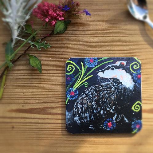 Wholesale Beautiful Badger Coaster