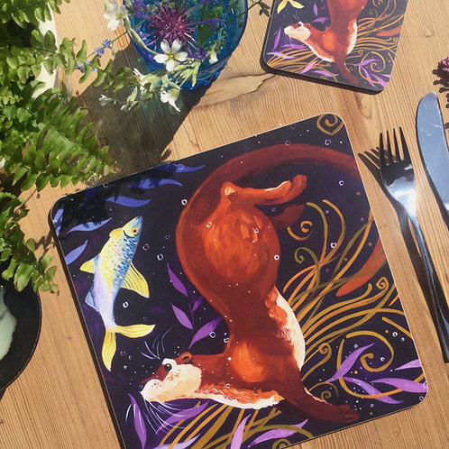 Otterly Fantastic Otter, Table/Place Mat