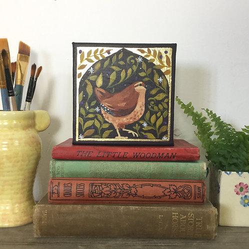 Little Wren, ORIGINAL painting