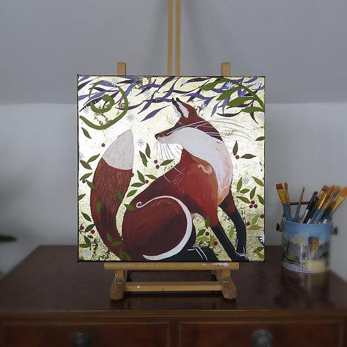 Wholesale Willow Tree Fox Original Canvas