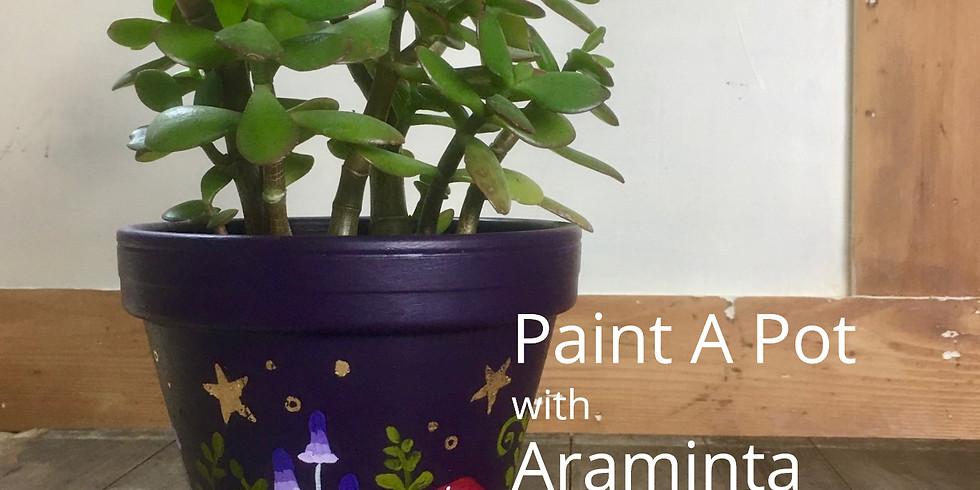 Paint a Plant Pot...Workshop