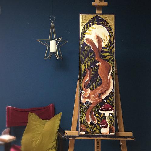 Heritage Hare, ORIGINAL painting