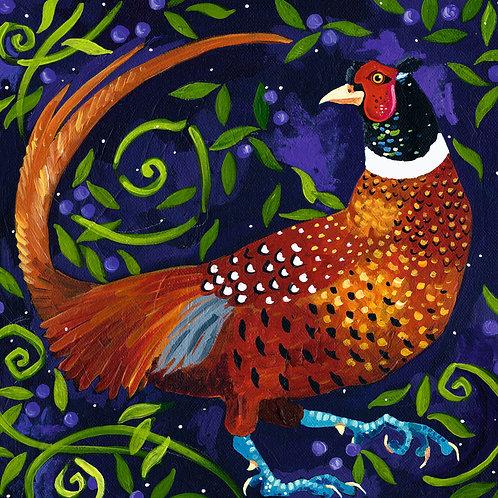 Fine Pheasant, PRINT