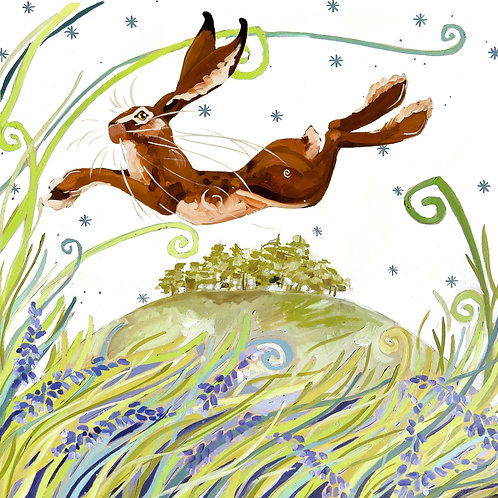May hill hare PRINT