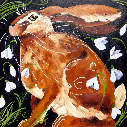Snowdrop Hare, PRINT