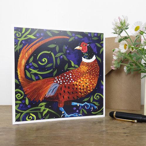 Ferdie Pheasant, Card
