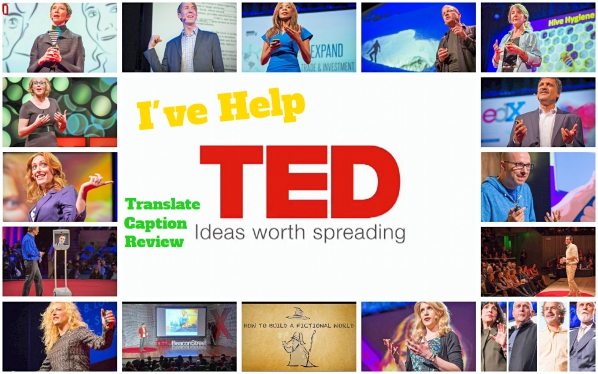 What I've Contributed to TED