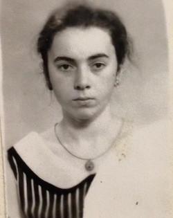 Первая фотография на паспорт. 16лет