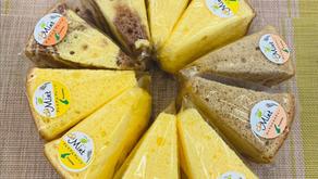 淡路島の米粉と卵でつくった納得のシフォンケーキはいかがでしょう?