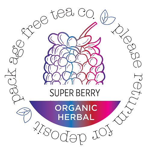 Organic Super Berry Herbal Cold Brew* Tea