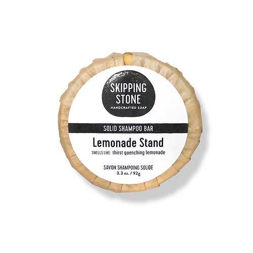 Skipping Stone Shampoo Bar - Lemonade Stand