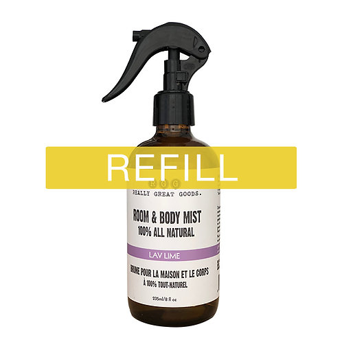 RGG Room & Body Mist - Lav Lime