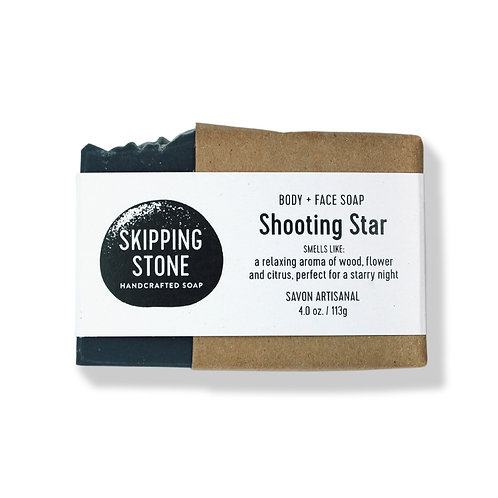 Skipping Stone Soap Bars - Shooting Star - Body + Face Soap