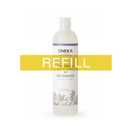 Oneka Shower Gel – Angelica & Lavender