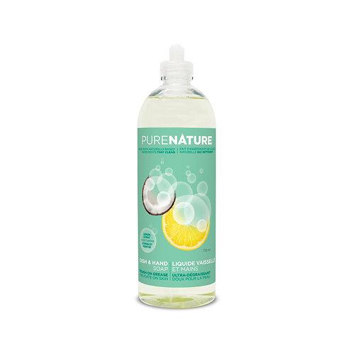 Pure Nature Dish & Hand Soap - Lemon/Mint