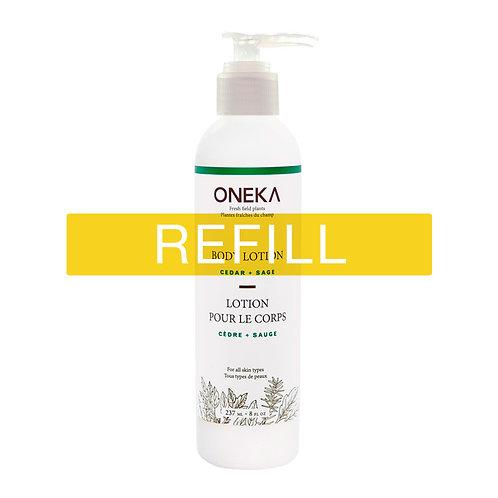 Oneka Body Lotion - Cedar & Sage