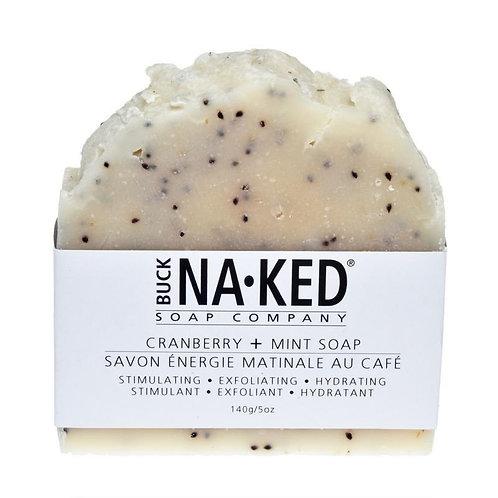 Buck-Naked Soap Bars - Cranberry + Mint