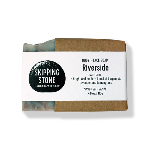 Skipping Stone Soap Bars - Riverside - Body + Face Soap