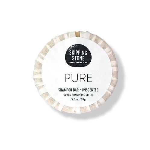 Skipping Stone Shampoo Bar - PURE Unscented
