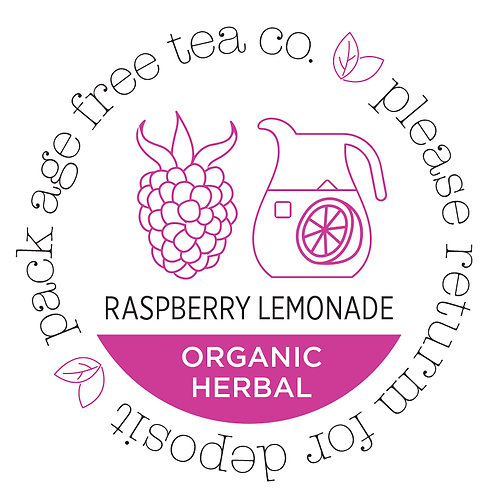 Organic Herbal Raspberry Lemonade Cold Brew* Tea