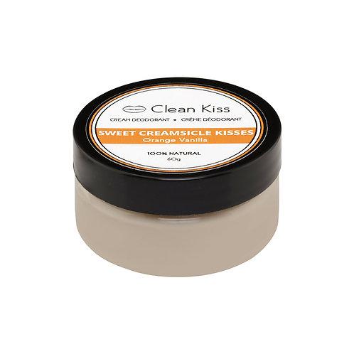 Clean Kiss Deodorant - Orange Vanilla