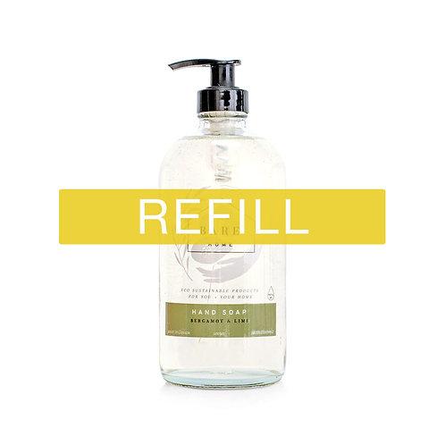 The Bare Home - Hand Soap - Bergamot Lime