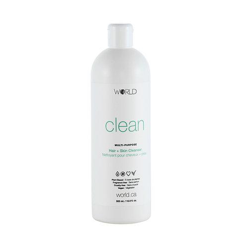 WORLD Clean - Hair & Skin Cleanser