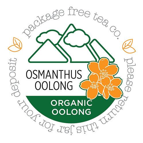Organic Osmanthus Oolong Tea