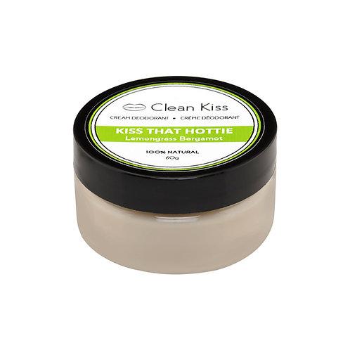 Clean Kiss Deodorant - Lemongrass Bergamot