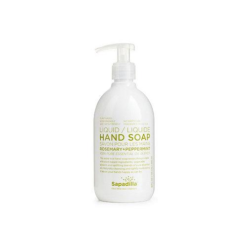 Sapadilla Hand Soap - Rosemary + Peppermint