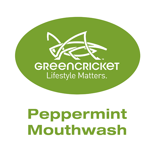 Green Cricket - Non-Alcoholic Peppermint Mouthwash