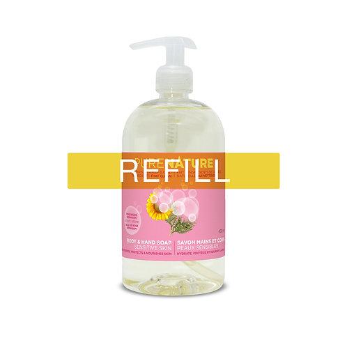 Pure Nature Body & Hand Soap - Rosewood/Geranium