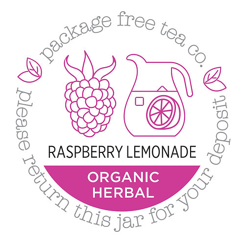 Organic Raspberry Lemonade Herbal Tea