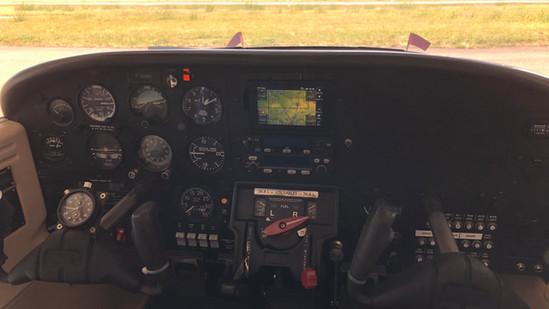 Cockpit F-GHNR