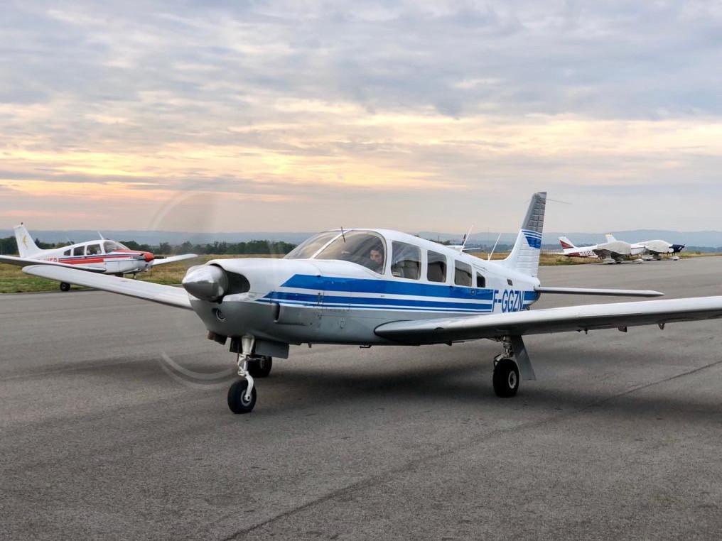 Piper P32R F-GGZN