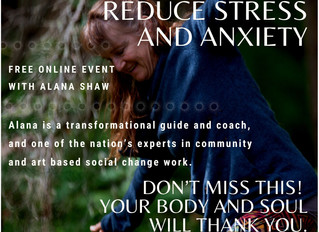 Free Online Event with Alana Shaw