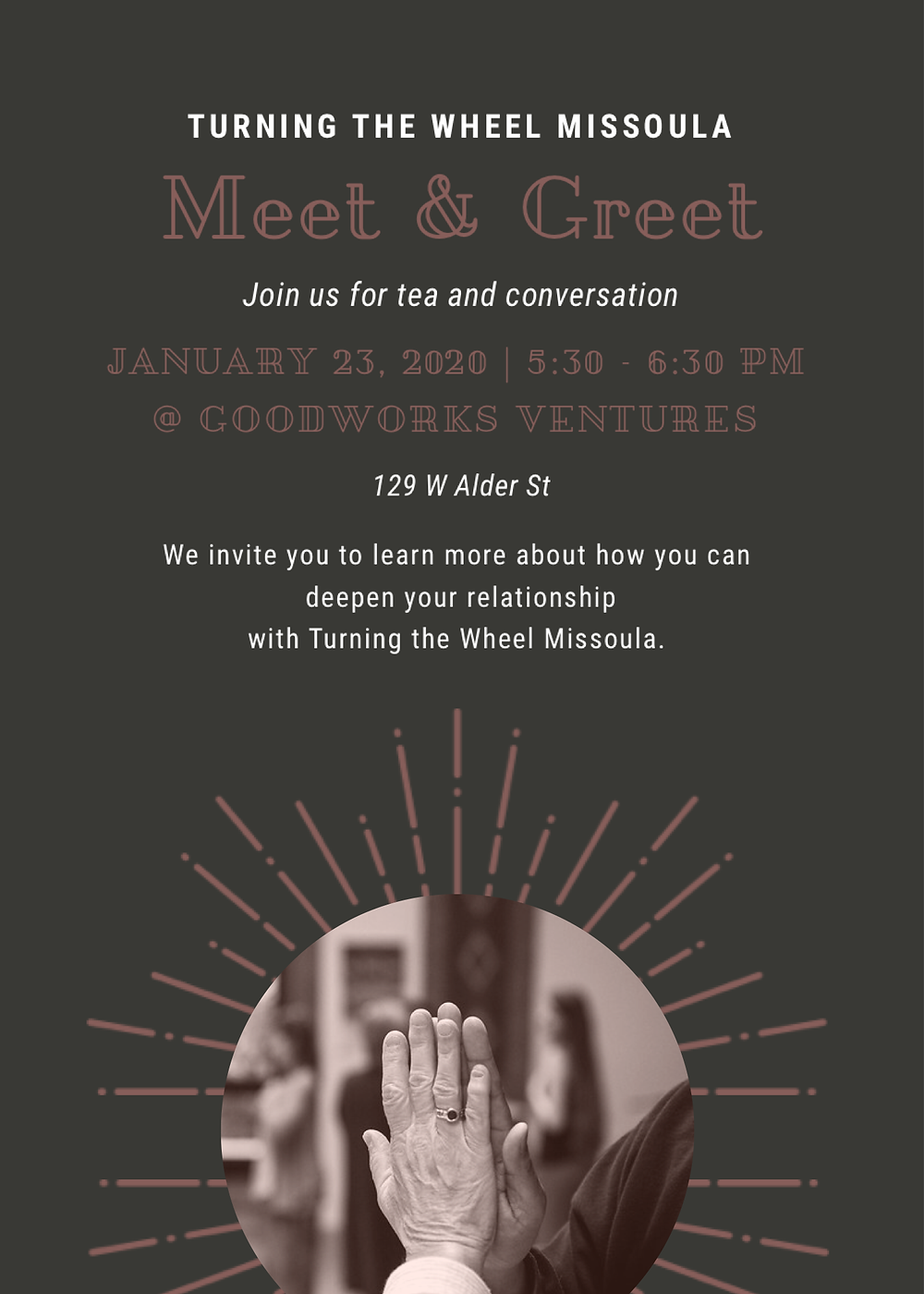 meet and greet with turning the wheel missoula flyer