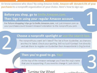 Set up Amazonsmile to Support TTW