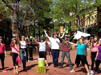 Street Frolic at Boulder Arts Week