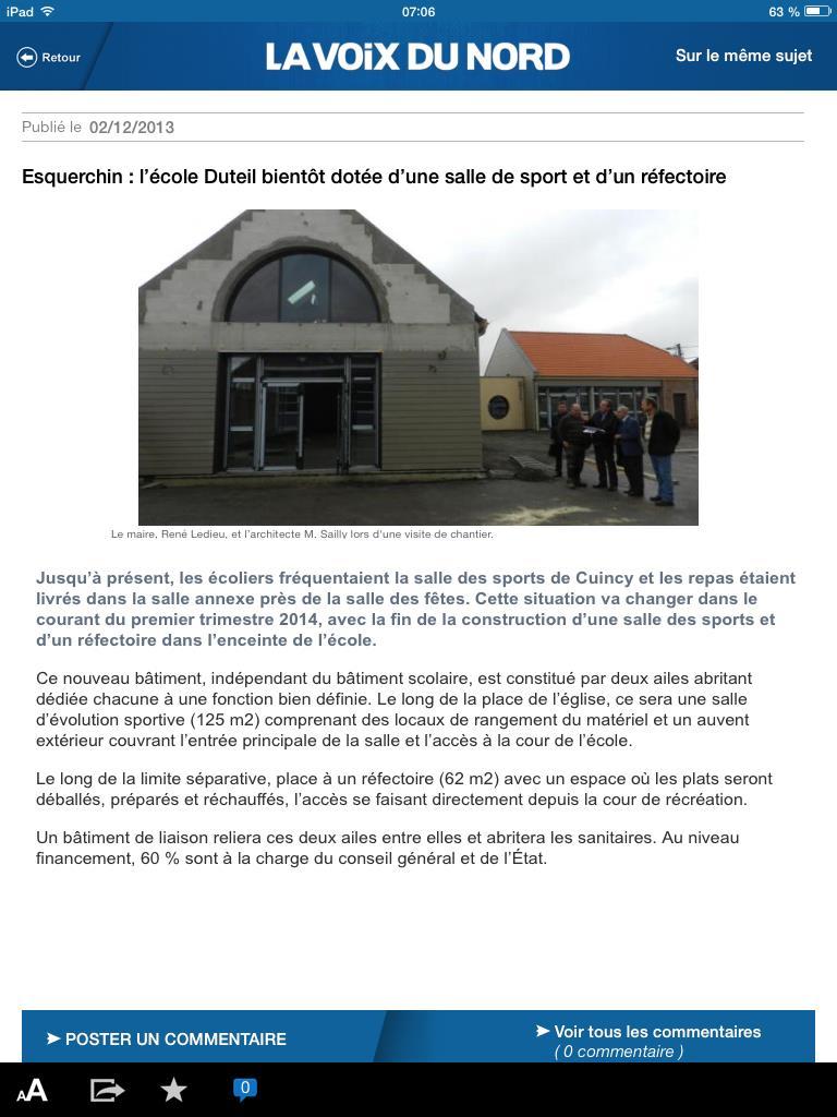 Ecole Yves Duteil à Esquerchin
