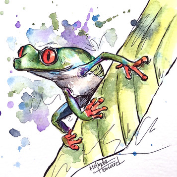 Loose style tree frog
