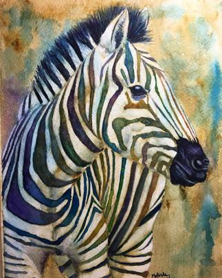 """Colorful Zebra"""