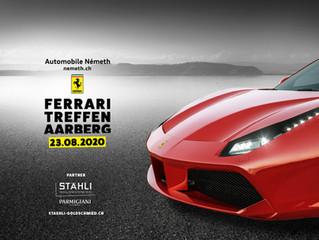 Réunion Ferrari à Aarberg 23.08.2020