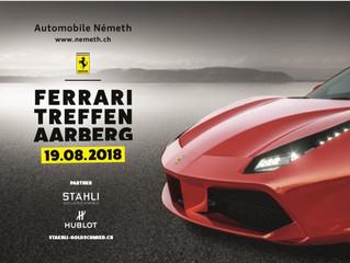 Ferrari Treffen Aarberg 19.08.2018