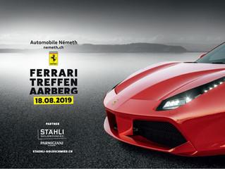 Ferrari Treffen Aarberg 18.08.2019