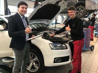 Lehrstelle bei Automobile Németh